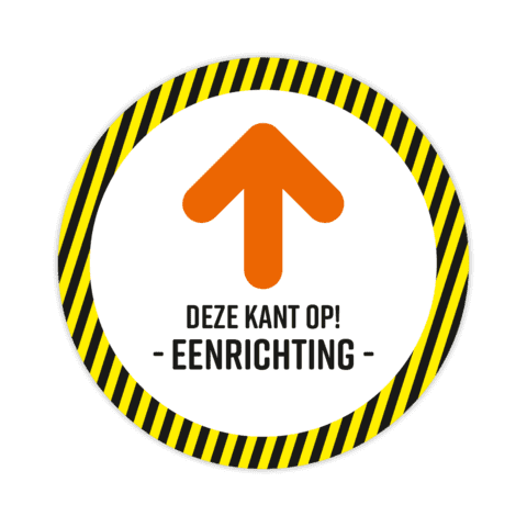 Looprichting - Eenrichting