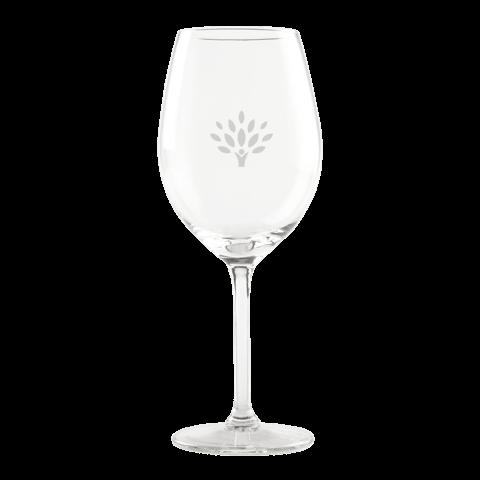 Wijnglas graveren met logo